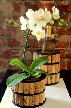 pinterest diy cork planters